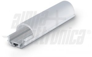 BARRA ALLUMINIO 1m PER LED IP20