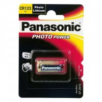 PANASONIC LITHIUM PHOTO POWER CR123AL