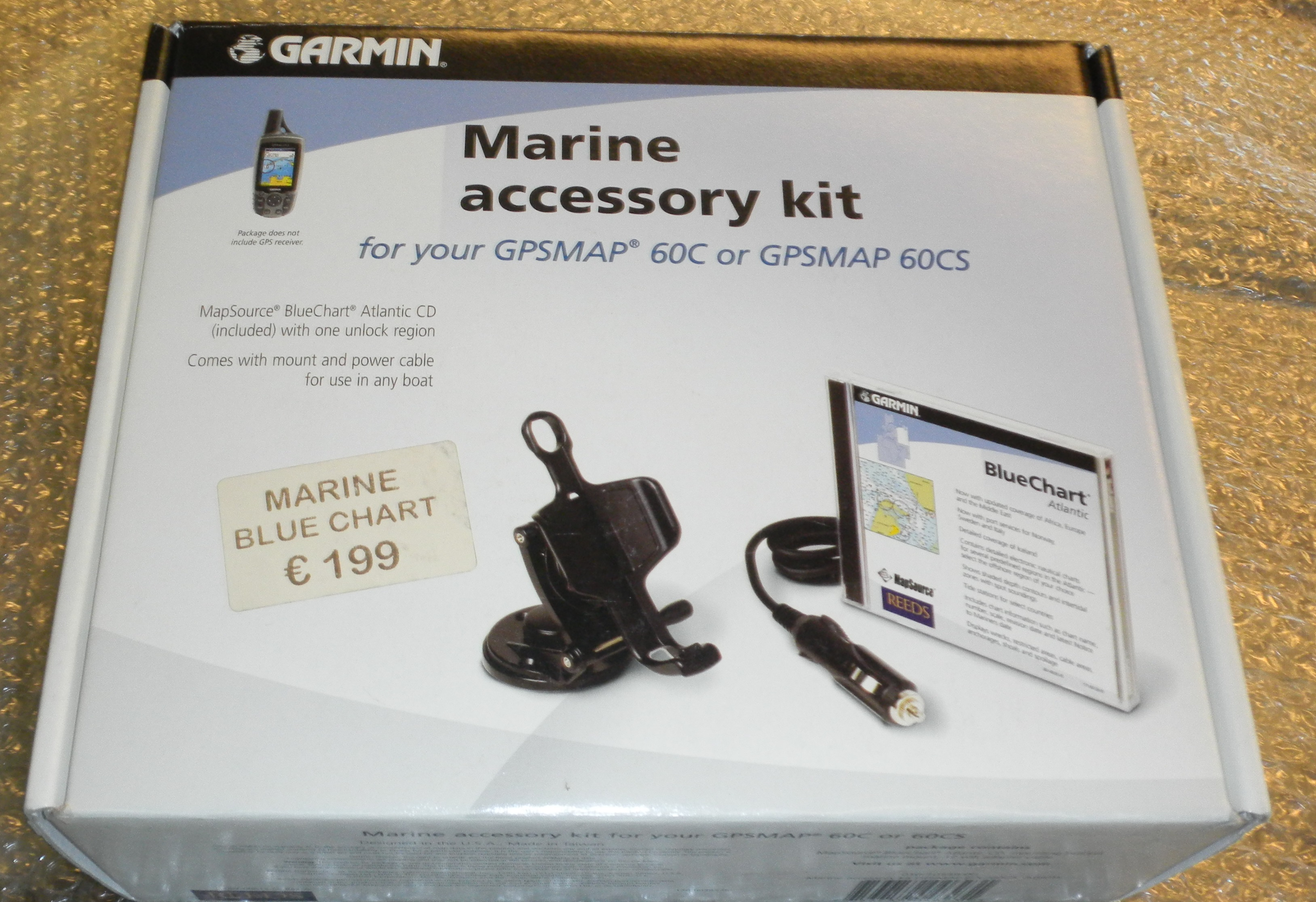 GARMIN MARINE KIT GPS 60C