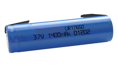 17650 LITIO 3,7V - 1400mAh