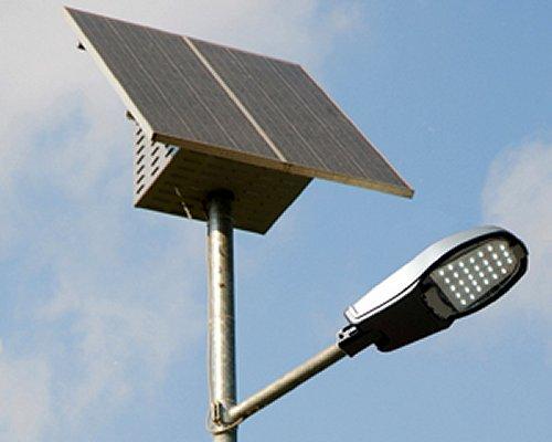 Plafoniere Con Pannello Solare : Lampione solare w led plafoniera