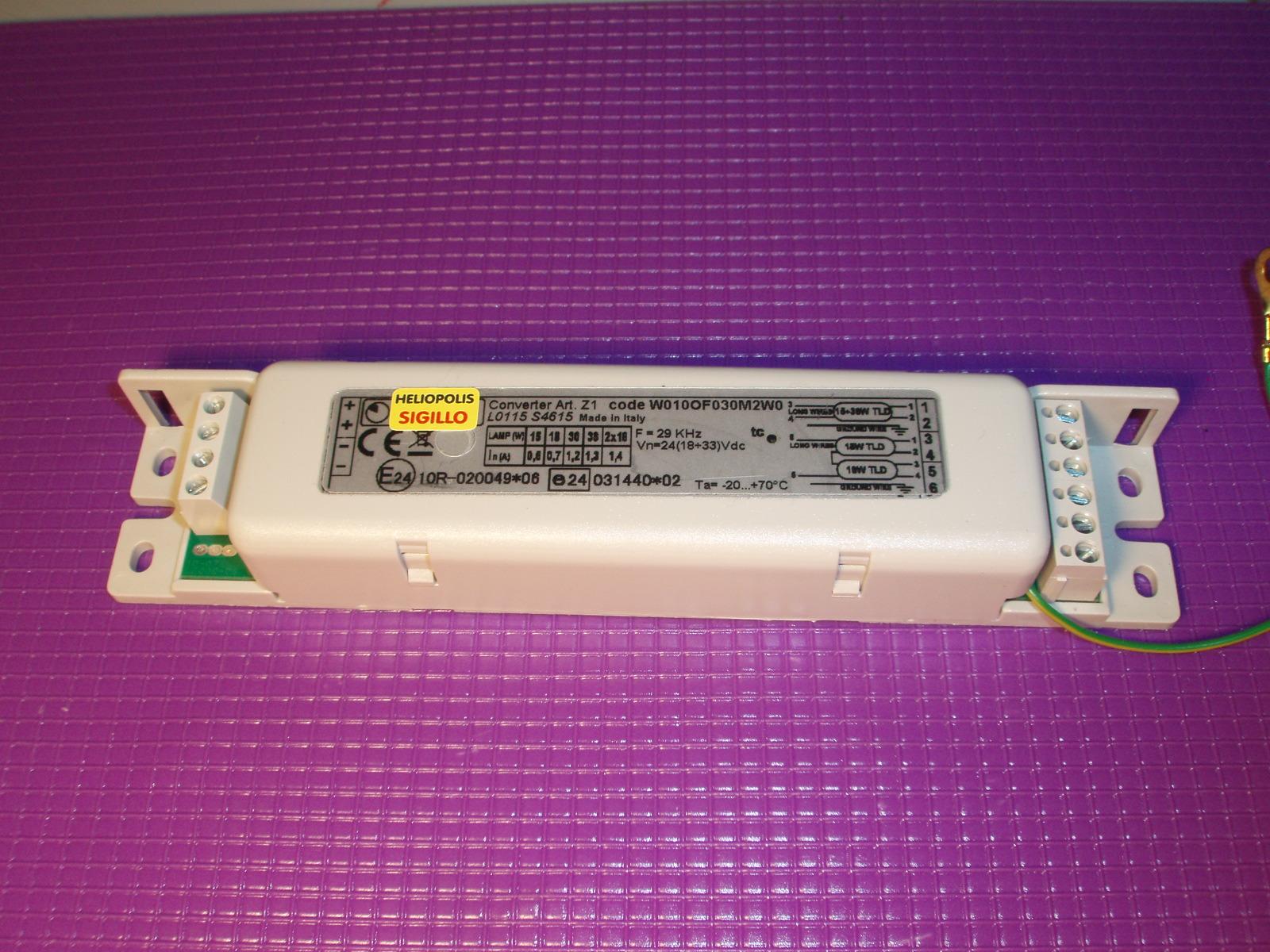 Plafoniere E Neon A Led : Accenditore ballast z1 12 singolo plafoniena neon 12volt plafoniera