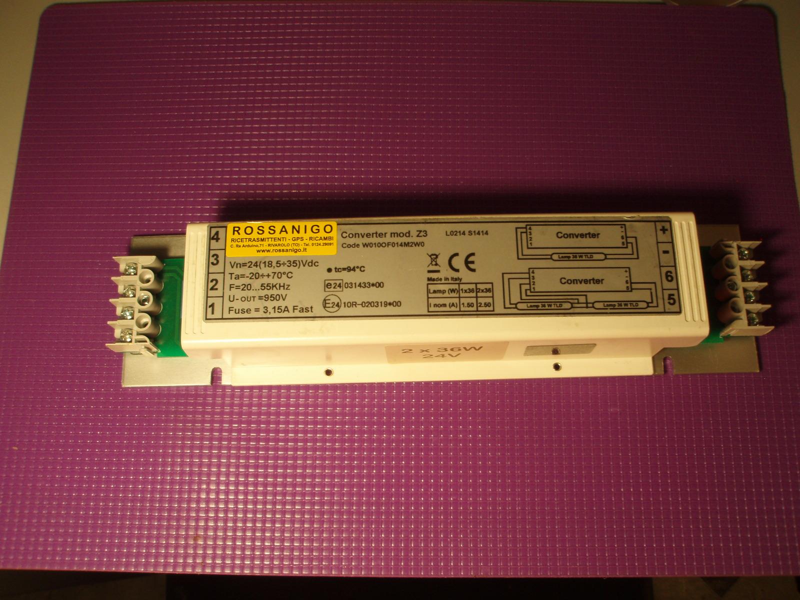 Plafoniera Neon 2x36 Watt : Accenditore z w watt lampadina led volt